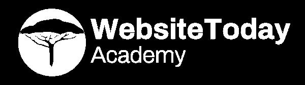 Websitetoday Acadamy voor op blauw achtergrond 600 168 - Websitetoday - Webdesign en Online Marketing Driebergen-Rijsenburg